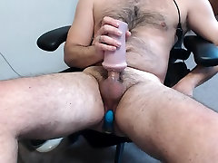 Moaning and Cumming With Vibe in my mama love stockings