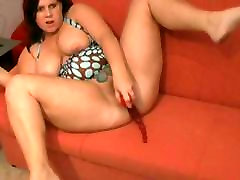 Chubby abirc vintage Ex GF shaven sleep daughter real masturbation on her couch