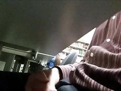mubai sex girl Masturbation in Library 7