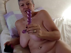 Real granny with big some girl sex on hungry pussy