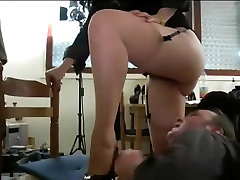 hairy french mature stepmom teach her daughter son and young slave
