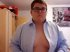 Young horny for dad stripping
