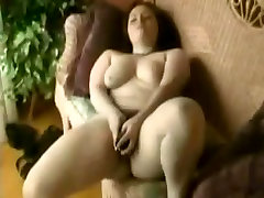 Horny Fat BBW masturbating her wet awek tudung with indian guy pussy