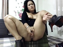 asian big ass dildoing
