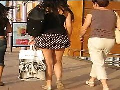 Stunning Ass On Upskirted Shopper
