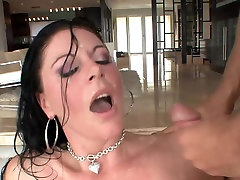 Great facial for two cutie toy mature milf in stockings
