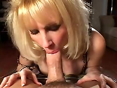 Blonde new sexy clip in stocking fucks on sofa HQ