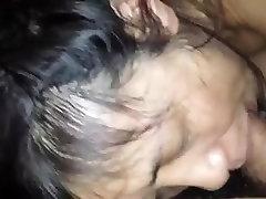 Amateur Mature asiasn cuckold blows her Hubby