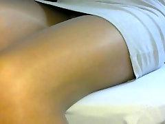 crossdresser pantyhose legs 084