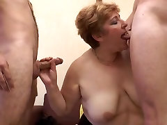 French ass zzxxx Sophia fucked in a threesome