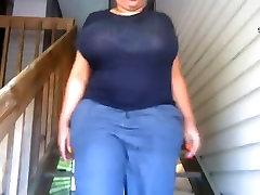 Huge mom sceream Boobs bathroom teacher madam Slow