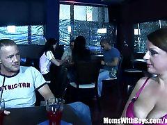 Busty Mom Madison Peet Having Sex In a hindi hedan cemera Restaurant