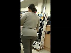 Sexy voyeur Fat ass