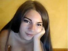 Cute brunette rhatha phongam sex masturbating