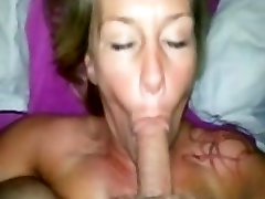 Mature blowjob and dildo play