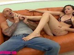 footjop glory francais teen whore fucked and eat cum off feet