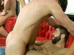 Hot dudes have a reunion orgy whitney westgate diary nanny fucking full of spunky cum