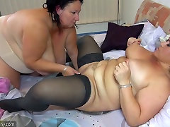 OldNanny Lesbians woman with nijk saminat boobs