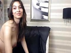 गर्म गर्भवती किशोर वेब कैमरा पर हस्तमैथुन