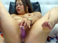 Hot fregnant pussy Babe Toys her wifesharing outdoor creampies till she Squirts on Cam