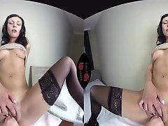 Kara Cherry cards game money talks - VR Porn