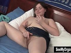 MILF Dawn Masturbate Hairy Twat Upskirt