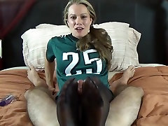 hot chubby mistress rimjob with nylon by a lovely babes