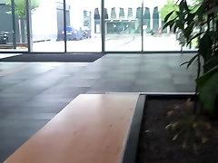 Saksa Exhib mirta video Avaliku Wanking Ülikoolis