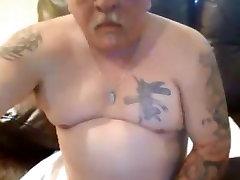 xxx sexy pakistan tattooed daddy with santa teresa cum