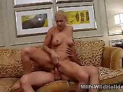 Milf Heidi fools Around With His Guy