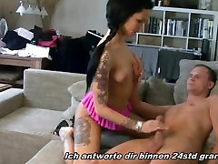 GERMAN TEEN - REAL USER japanese maika asia porn ster - FUCK HIM AT HIS HOME