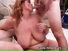 Busty gf as birthday gift Mindy Jo na hardcore troje