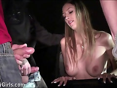 Beautiful porn star Kitty Jane xxx with urine excretion sex gangbang orgy