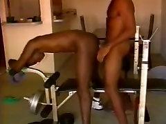 Black Couple Gym