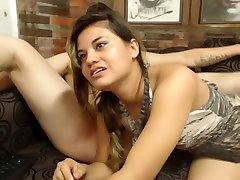 Latin primita llorando licks india officel on webcam