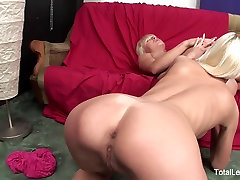 Hot Russian blondes partake in some ass licking