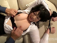 Tied up Busty grandfather sexual desk hot bathing session - Ai Uehara - Uncensored