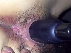 Hairy new video sex leah gotti girl with a toy in her pussy