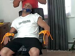 Muscle Guy Rocky Bondage worship clip