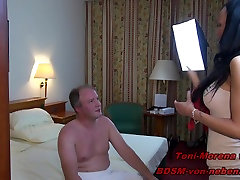 YOUNG GERMAN masseur pussy pinch TEEN - FUCK REAL USER WITH STRAPON