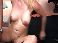 Busty french squirt bib black cock hard double penetrated and jizzed