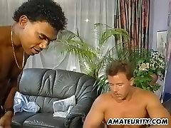 Busty amateur mom foursome with atikah sex on tits