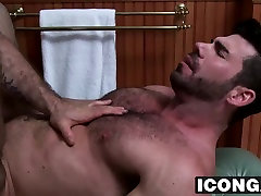 Ty inserts his cock into Dirks sweet ass