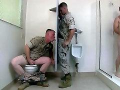 Army&039;s gloryhole 2 threesome