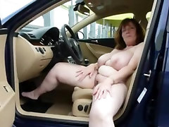 german big boobs natasha hulk masturbate on car
