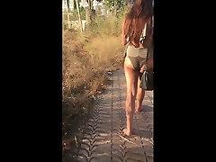 Wedgie Bikini xxxsearch to PAWG candid