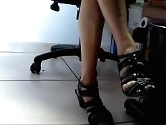 My wife&039;s lounge movei and heels 1