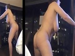 Big Tit indo jowo stand up Masturbation