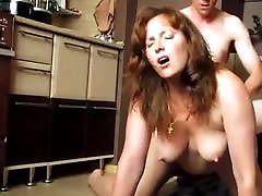 Red head doggy mira fairy great tits