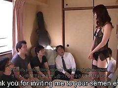 brazerfull video maguro 39 AV star Tsubaki Katou gokkun party